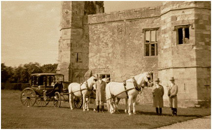 Lipizzaner Horses, at Titchfield       Abbey