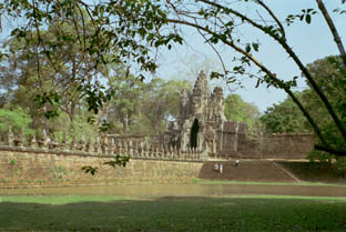 The South Gate at Angkor Thom
