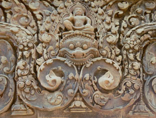 lovely site of Banteay Srei