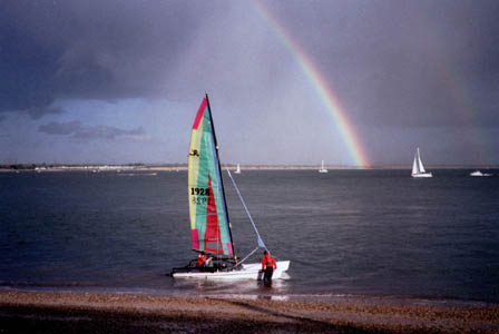 Rainbow at Calshot