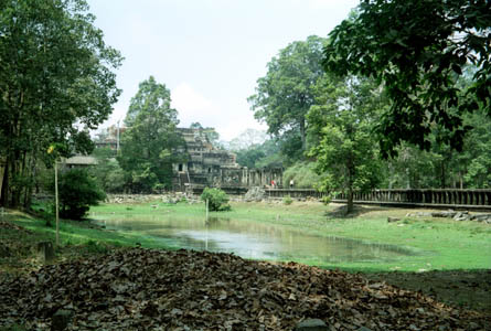 Angkor was the ancient capital of the Khmers