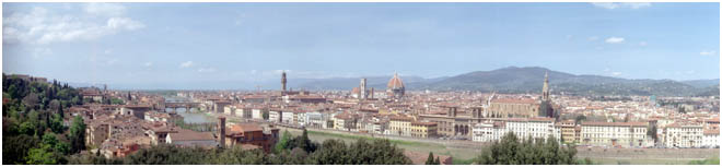 Across the river to Firenze