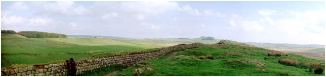 Hadrians Wall, Panoramic