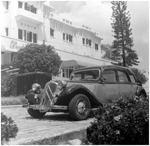 Citroen Traction car at Dalat