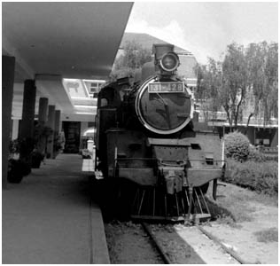 Steam Locomotive at Dalat Railway Station