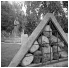 Garden of Fallen monuments, is a very fallen Joseph Vissarionovich Stalin
