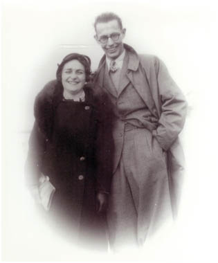 Grandparents in 1935