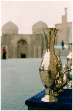 Brasswork in Bukhara