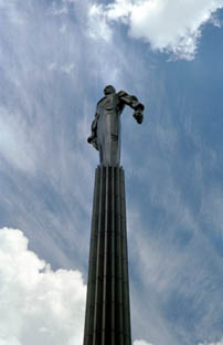 memorial to Yuri Gagarin
