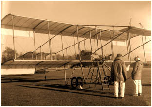 100th anniversary of the first successful powered sustained and controlled       flight