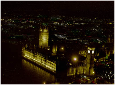 Aerial view, Houses of Parliament
