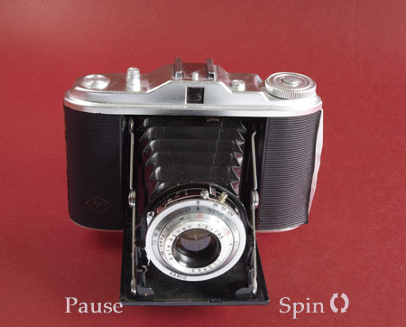 Agfa Isolette 1 camera