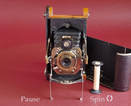 Old Kodak 360 degree rotating image