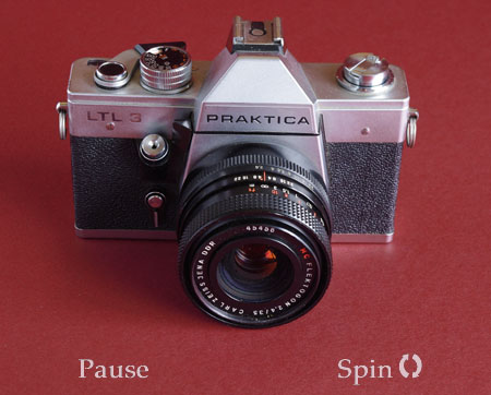 Praktica ltl3 camera 360° rotational view