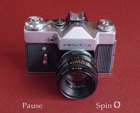 Zenit B 360 degree rotating image